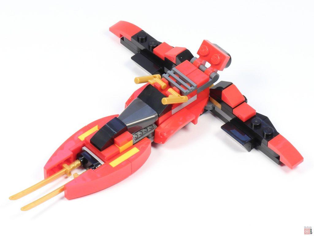LEGO® Ninjago 30536 Mini Kai Fighter, Aufbau 09 | ©2020 Brickzeit