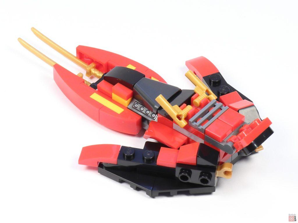 LEGO® Ninjago 30536 Mini Kai Fighter, fertig 02 | ©2020 Brickzeit