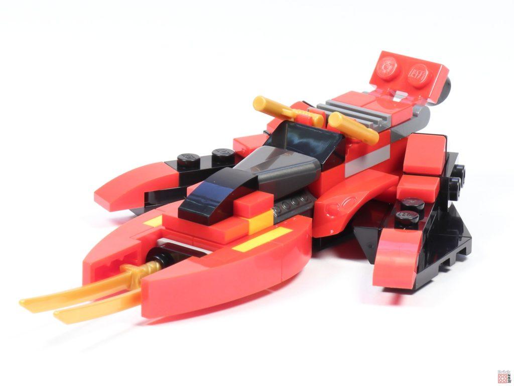 LEGO® Ninjago 30536 Mini Kai Fighter, vorne links | ©2020 Brickzeit