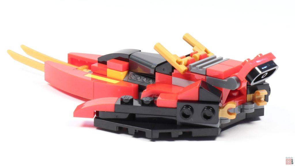 LEGO® Ninjago 30536 Mini Kai Fighter, hinten links | ©2020 Brickzeit