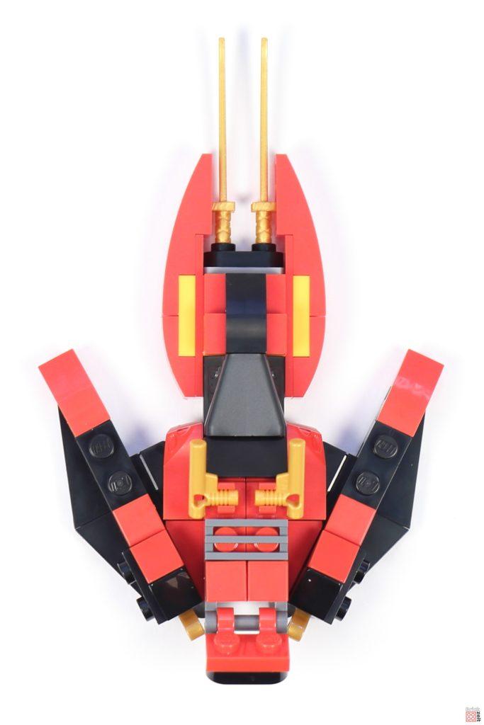 LEGO® Ninjago 30536 Mini Kai Fighter, Draufsicht | ©2020 Brickzeit
