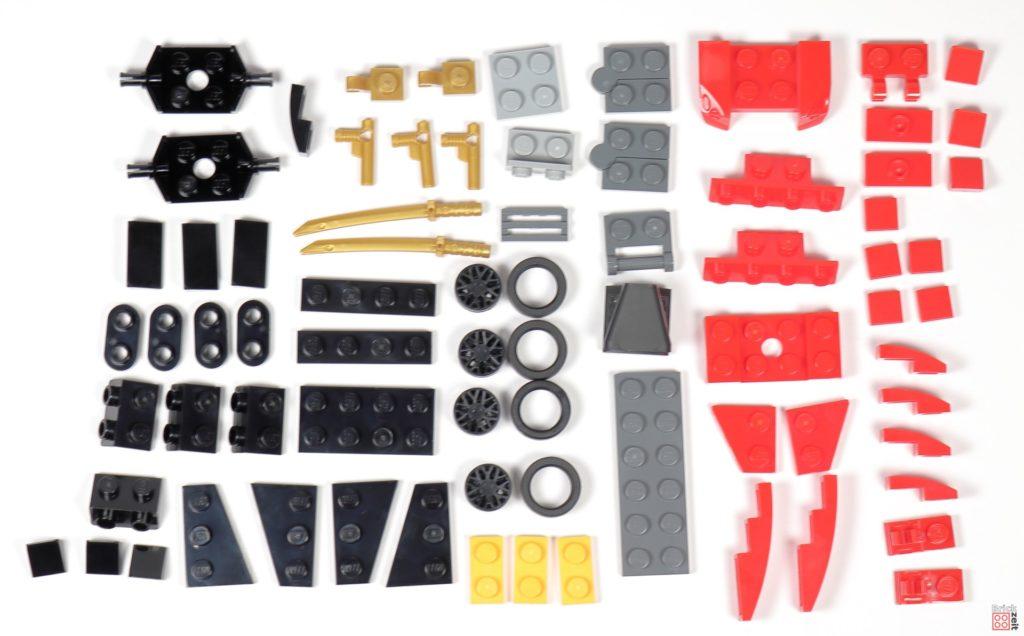 LEGO® Ninjago 30536 Kombi-Flotzer Polybag, Inhalt | ©2020 Brickzeit