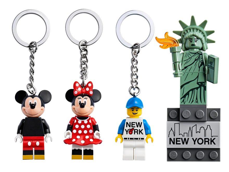 LEGO® Schlüsselanhänger & Co. - Titelbild | ©LEGO Gruppe