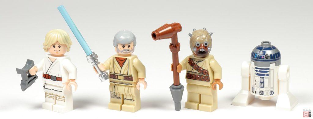 LEGO® Star Wars™ 75270 - vier Minifiguren | ©2020 Brickzeit