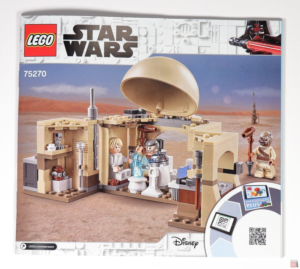 LEGO® Star Wars™ 75270 Obi Wans Hütte - Anleitung | ©2020 Brickzeit