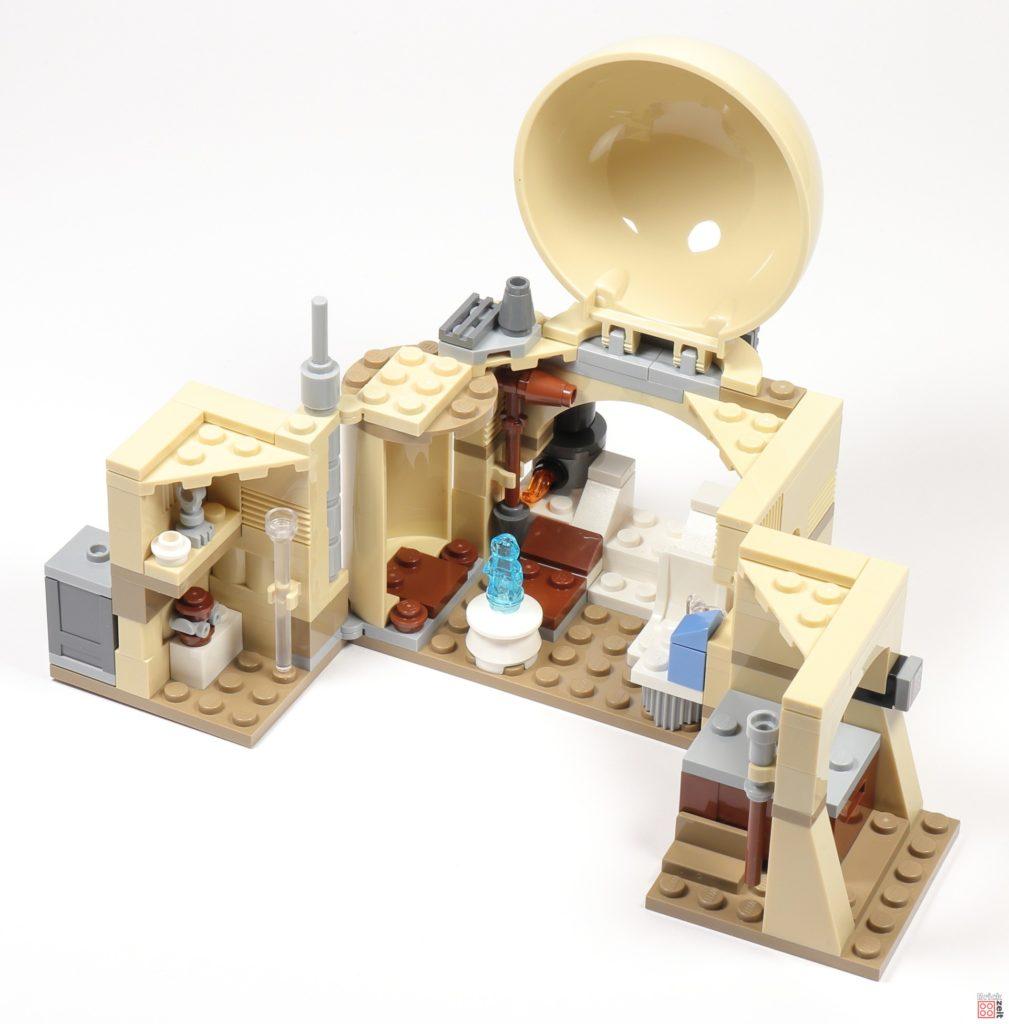 LEGO® Star Wars™ 75270 Obi Wans Hütte, offen 04 | ©2020 Brickzeit