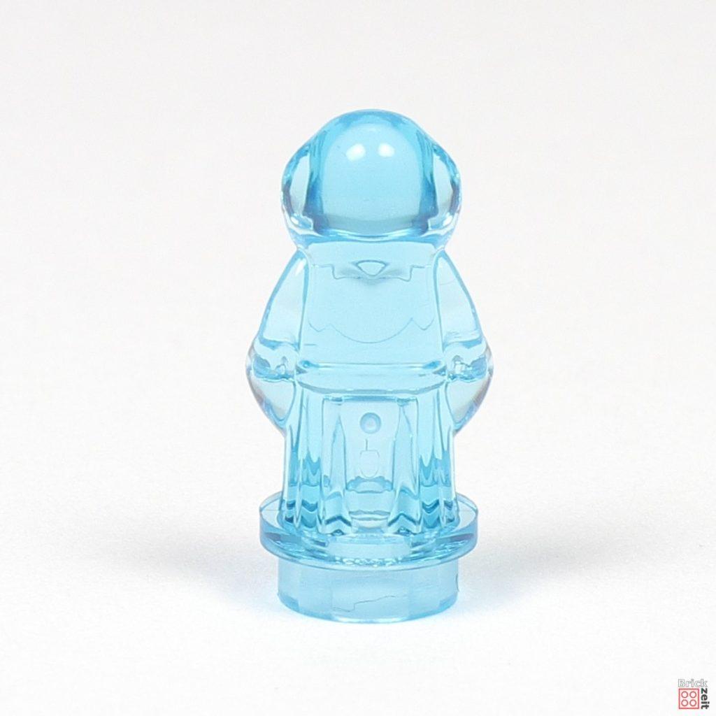 LEGO® Star Wars™ 75270 - Hologramm von Prinzessin Leia, Microfigur, Rückseite | ©2020 Brickzeit