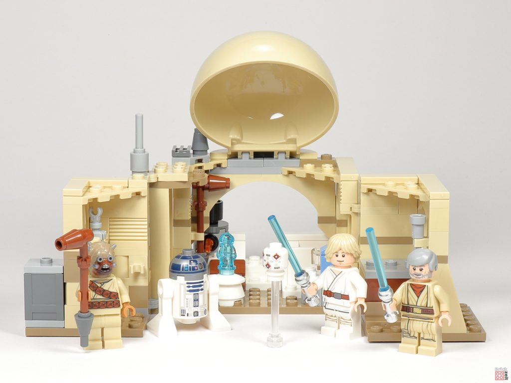 LEGO® Star Wars™ 75270 Obi Wans Hütte, offen | ©2020 Brickzeit
