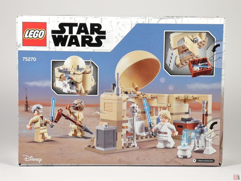 LEGO® Star Wars™ 75270 Obi Wans Hütte - Packung, Rückseite | ©2020 Brickzeit
