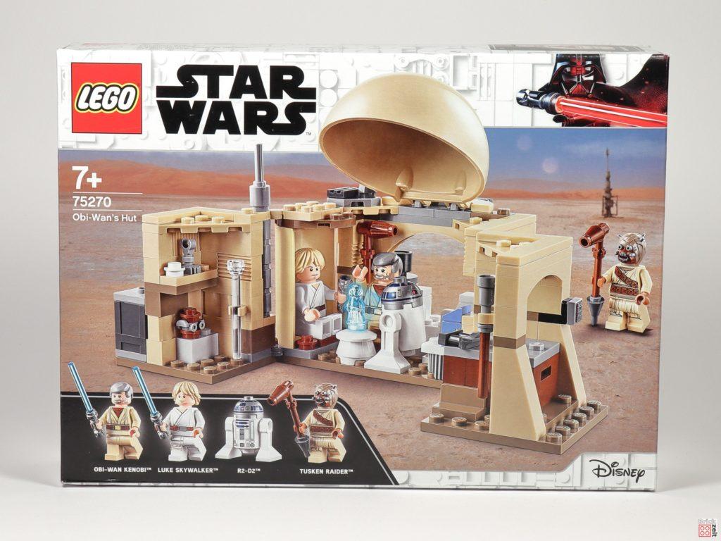 LEGO® Star Wars™ 75270 Obi Wans Hütte - Packung, Vorderseite | ©2020 Brickzeit
