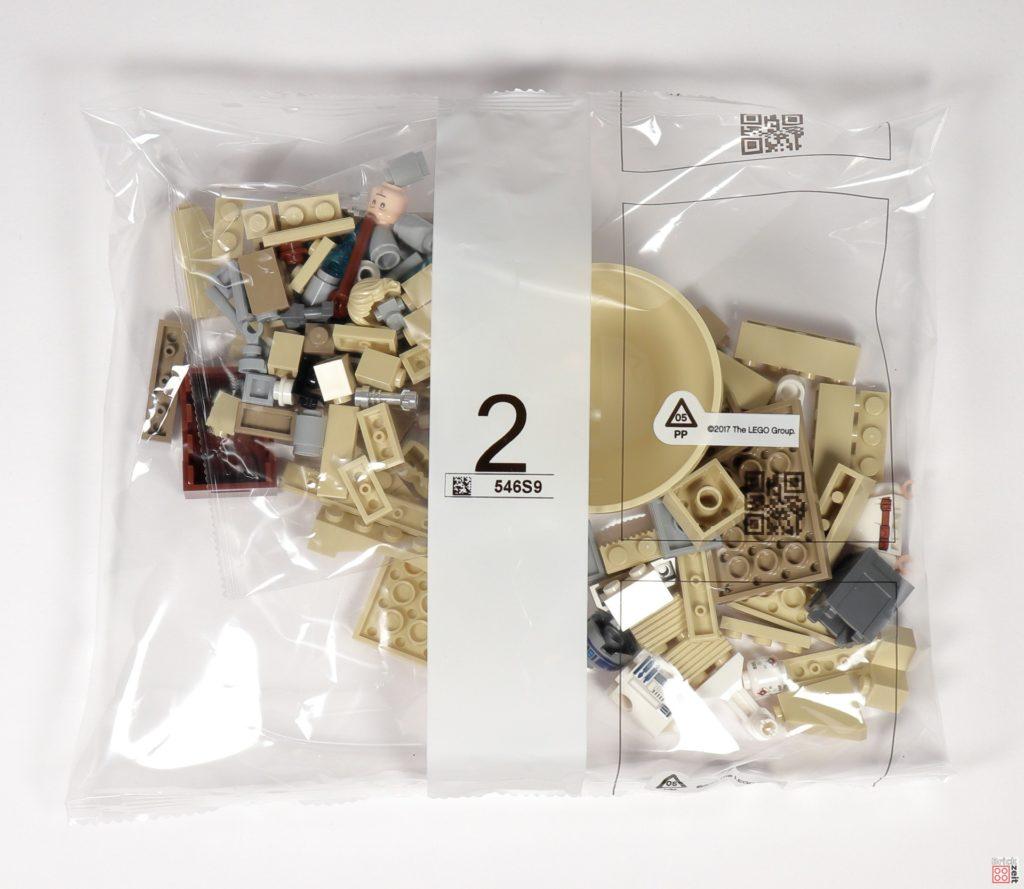 LEGO® Star Wars™ 75270 Obi Wans Hütte - Steintütchen 2 | ©2020 Brickzeit