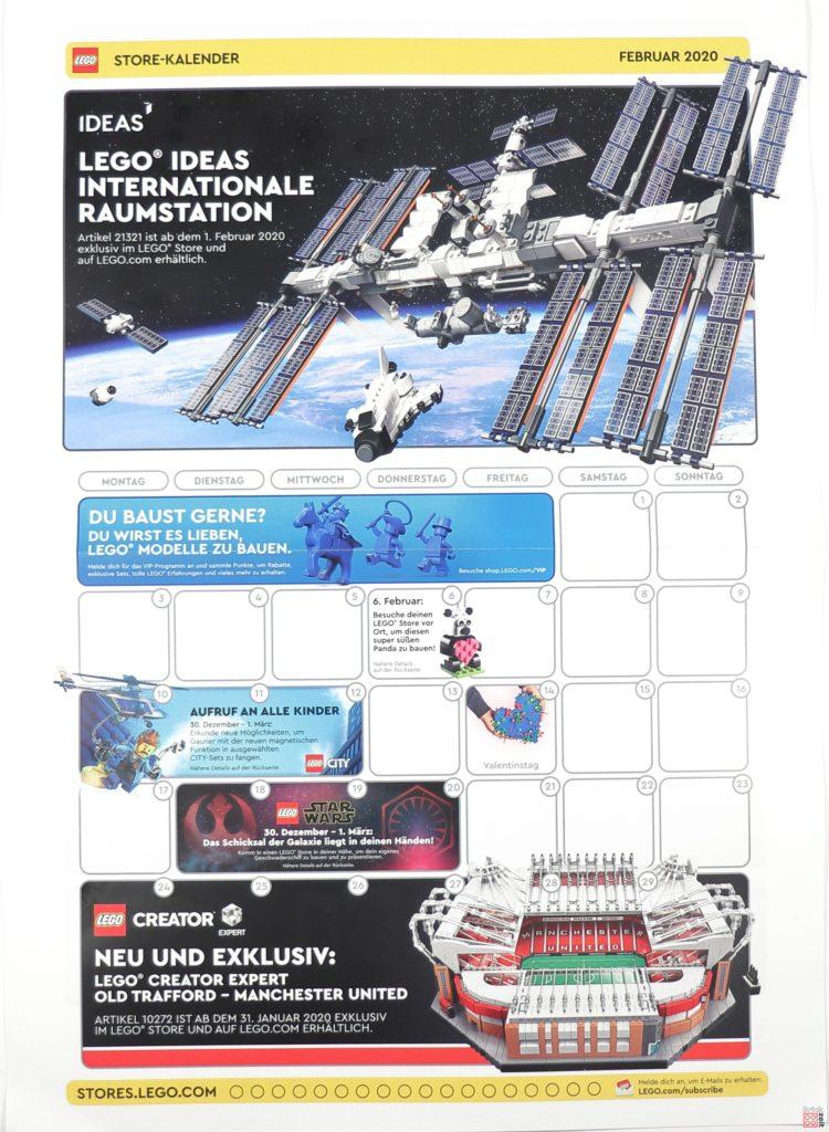 LEGO Store Kalender Februar 2020 - Seite 1 von 2 | ©LEGO Gruppe
