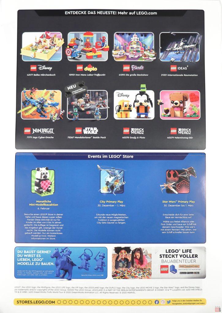 LEGO Store Kalender Februar 2020 - Seite 2 von 2 | ©LEGO Gruppe