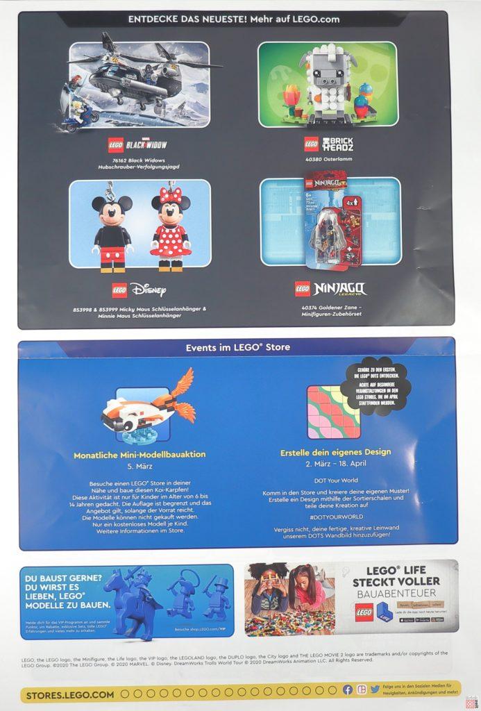 LEGO Store Kalender März 2020 - Seite 2 | Foto Brickzeit
