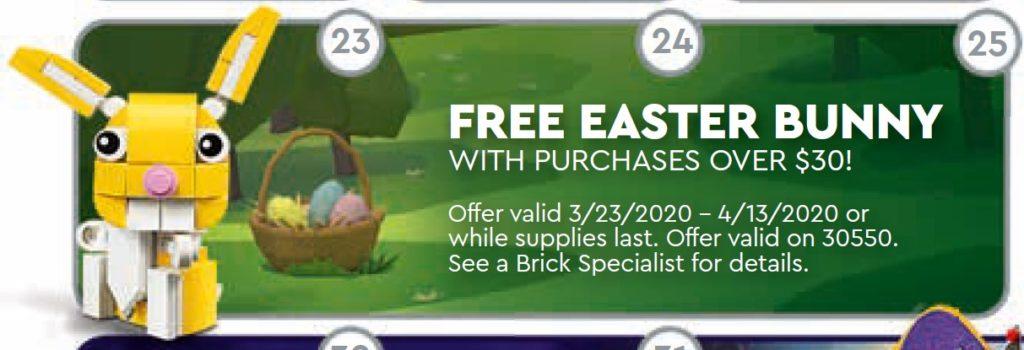 LEGO 30550 Easter Bunny | ©LEGO Gruppe