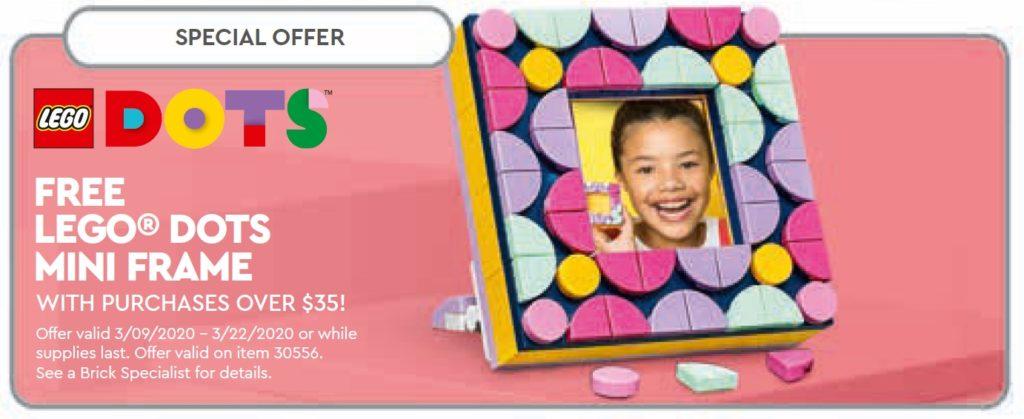LEGO® DOTS Mini Frame 30556 | ©LEGO Gruppe