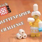 Brickzeit Toilettenpapier Challenge - Wer schafft mehr?