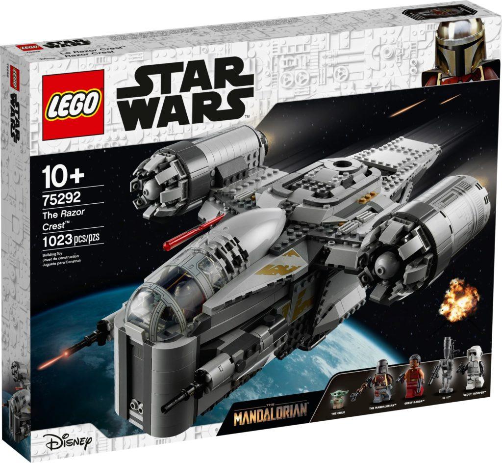 LEGO Star Wars 75292 Razor Crest - Verpackung Vorderseite | ©LEGO Gruppe