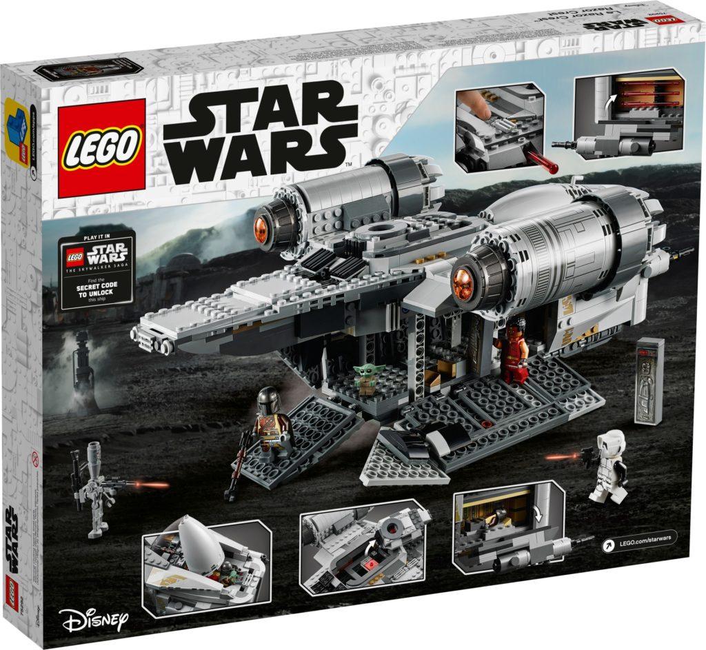 LEGO Star Wars 75292 Razor Crest - Verpackung Rückseite | ©LEGO Gruppe