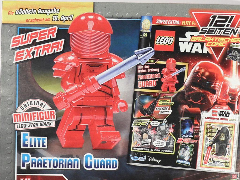 Heftvorschauf LEGO Starwars Magazin 59 mit Elite Praetorian Guard | ©2020 Brickzeit