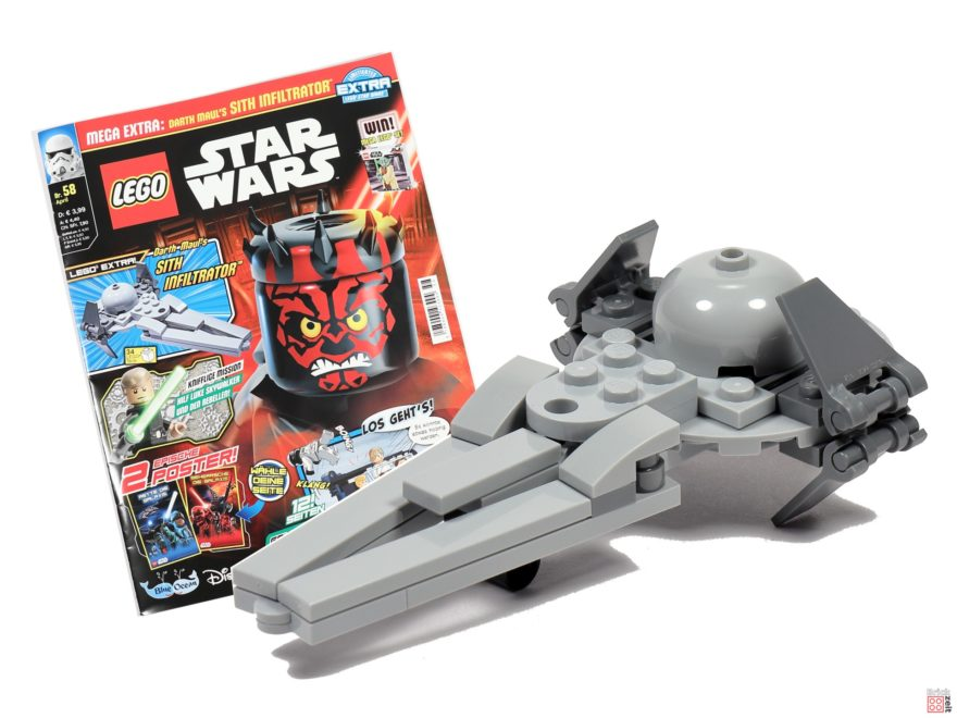 LEGO® Star Wars™ Magazin Nr. 58 (April 2020) | ©2020 Brickzeit