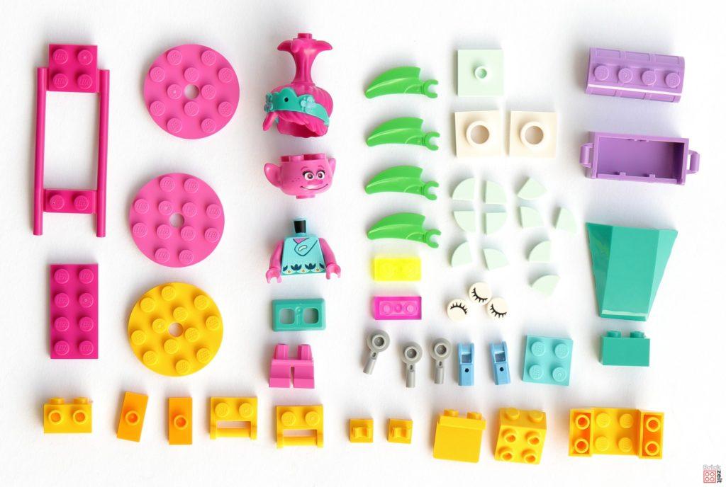 LEGO Trolls World Tour 30555 Poppys Kutsche Polybag, Inhalt | ©2020 Brickzeit