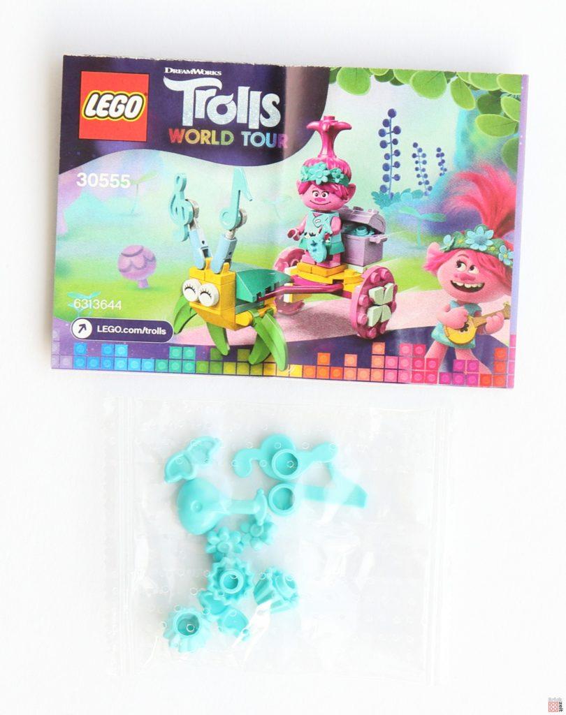 LEGO Trolls World Tour 30555 Poppys Kutsche Polybag, Inhalt 2 | ©2020 Brickzeit
