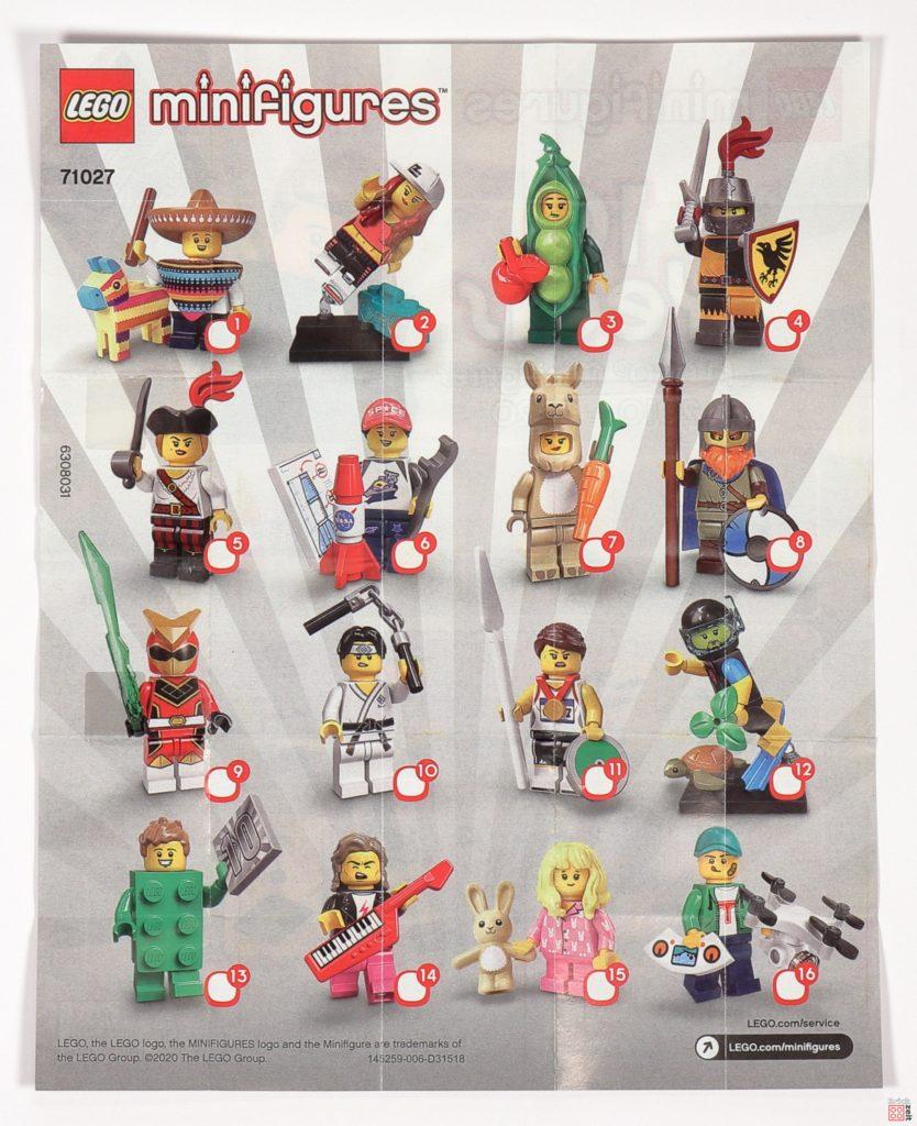 LEGO® 71027 Minifiguren Serie 20 - Anleitung, Vorderseite | ©2020 Brickzeit