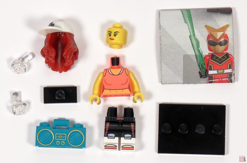LEGO 71027 - Minifigur Nr. 2 - Breakdance-Queen | ©2020 Brickzeit