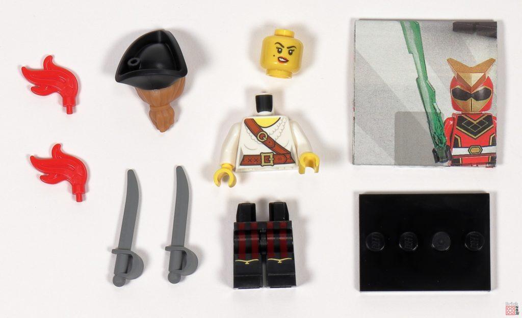 LEGO 71027 - Minifigur Nr. 5 - Piratin | ©2020 Brickzeit