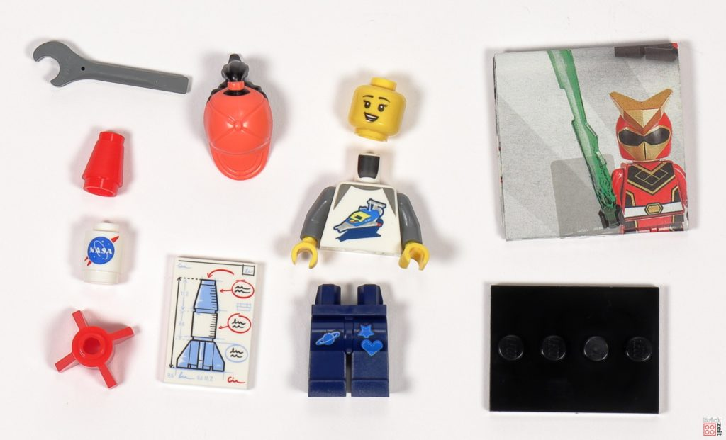 LEGO 71027 - Minifigur Nr. 6 - Weltraumfan | ©2020 Brickzeit