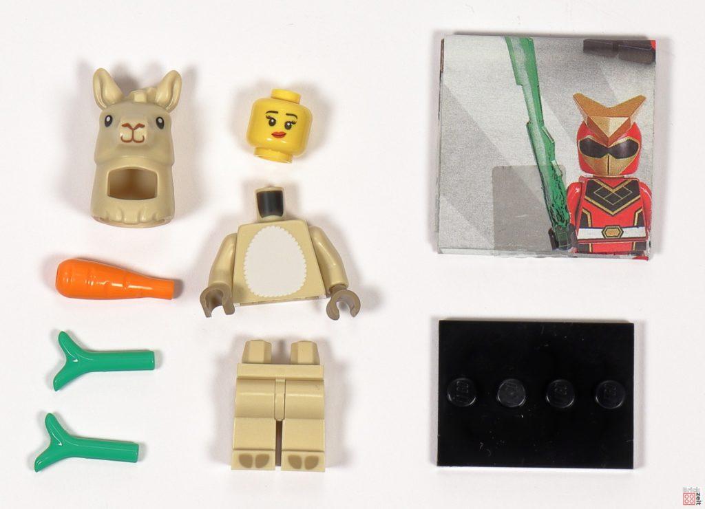 LEGO 71027 - Minifigur Nr. 7 - Mädchen im Lamakostüm | ©2020 Brickzeit