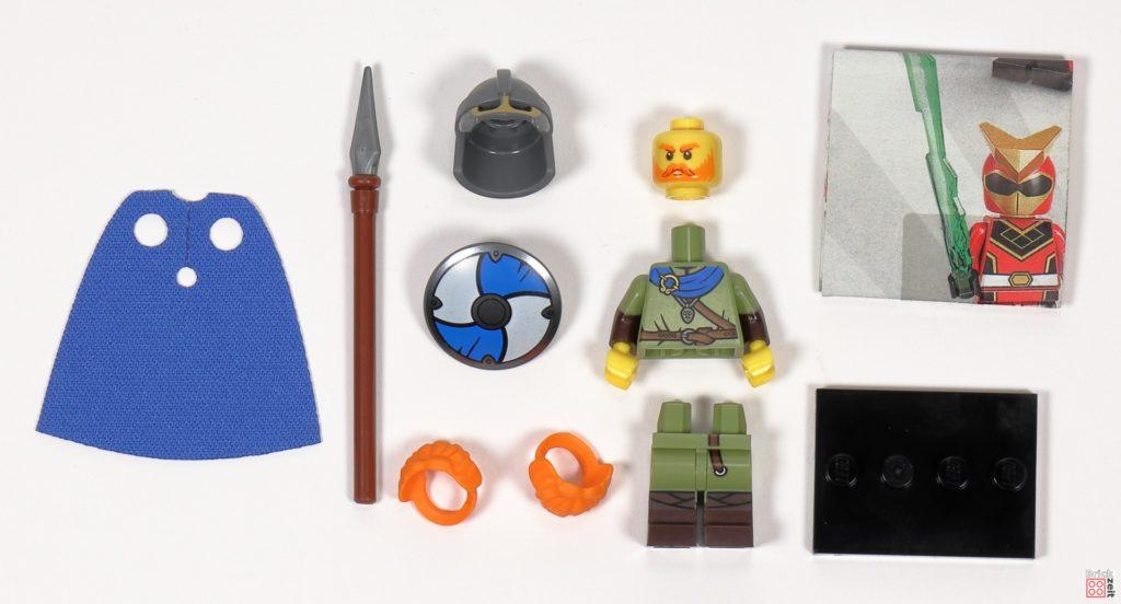LEGO 71027 - Minifigur Nr. 8 - Wikinger | ©2020 Brickzeit