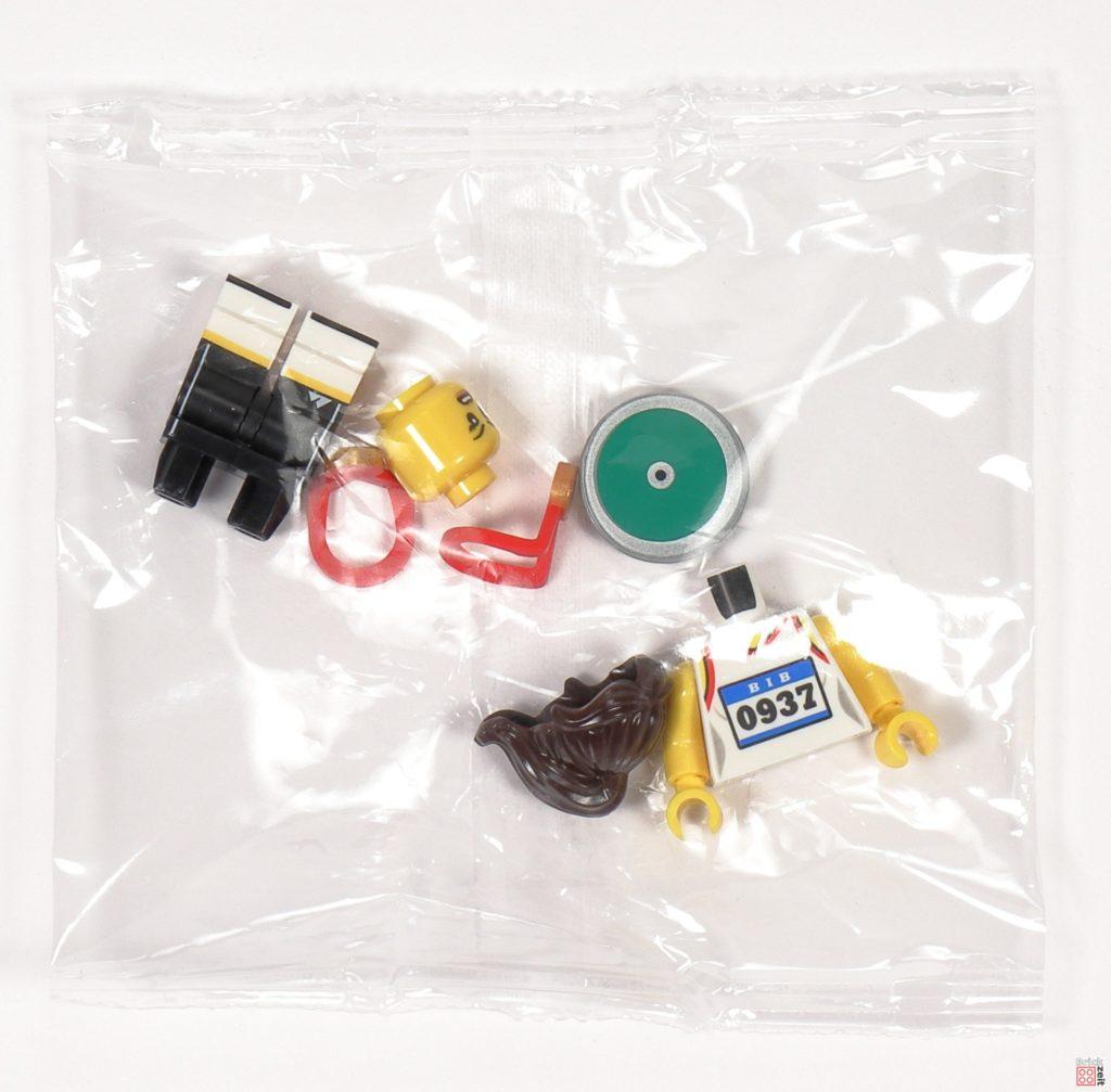 LEGO 71027 - Minifigur Nr. 11 - Leichtathletin | ©2020 Brickzeit