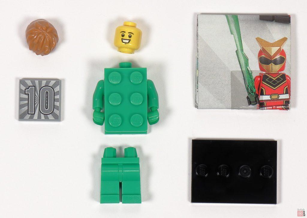 LEGO 71027 - Minifigur Nr. 13 - Mann im Steinkostüm | ©2020 Brickzeit