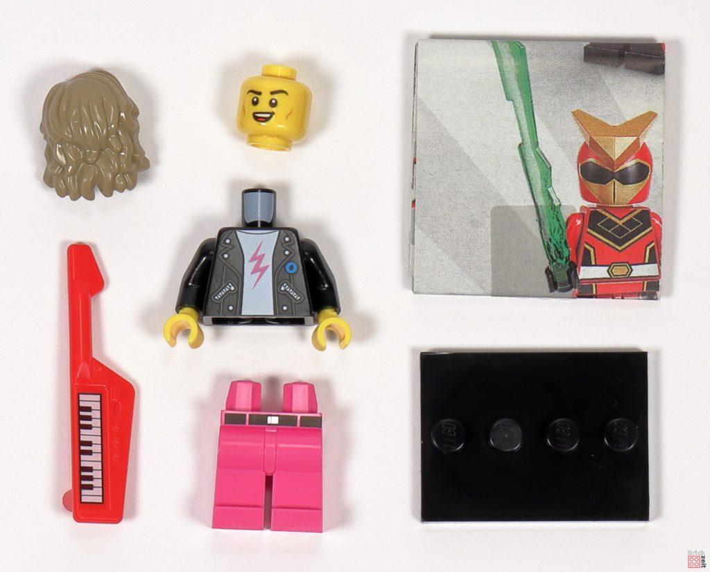 LEGO 71027 - Minifigur Nr. 14 - 80er-Jahre-Popstar | ©2020 Brickzeit