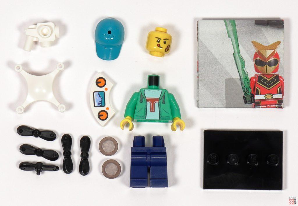 LEGO 71027 - Minifigur Nr. 16 - Junge mit Drohne | ©2020 Brickzeit