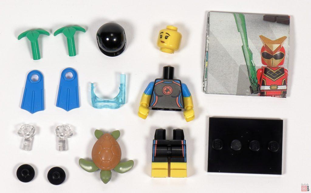 LEGO 71027 - Minifigur Nr. 12 - Seenotretterin | ©2020 Brickzeit