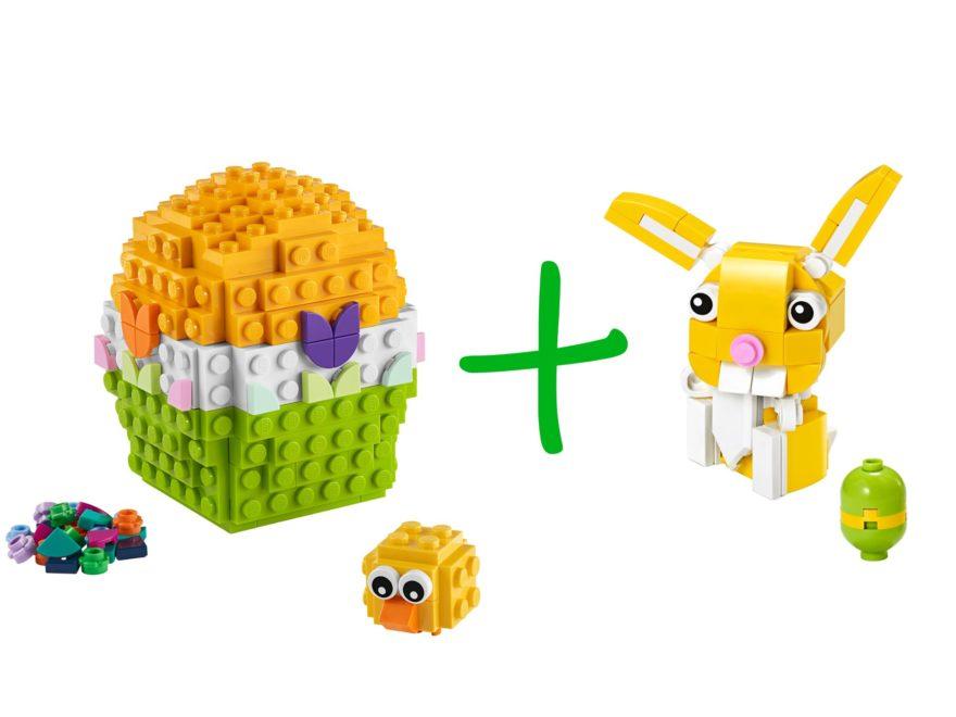 LEGO 30550 Osterhase und LEGO 40371 Osterei als Gratisbeigabe Ostern 2020 | LEGO Gruppe