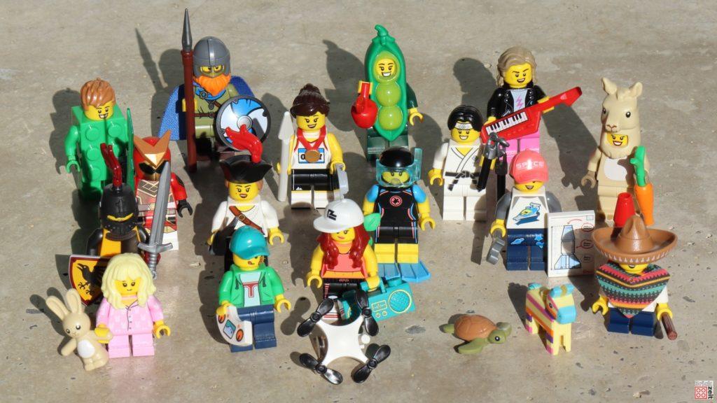 LEGO 71027 - Alle Figuren | ©2020 Brickzeit