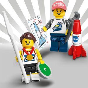 LEGO 71027 - Athletin und LEGO Space Fan | LEGO Gruppe