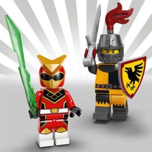 LEGO 71027 - Super Warrior und Turnierritter | LEGO Gruppe