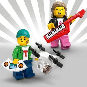LEGO 71027 - Junge mit Drohne und 80er Jahre Musiker | LEGO Gruppe
