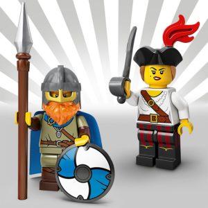 LEGO 71027 - Wikinger und Piratin | LEGO Gruppe
