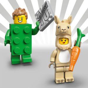 LEGO 71027 - Junge im Brickkostüm & Mädchen im Lamakostüm | LEGO Gruppe