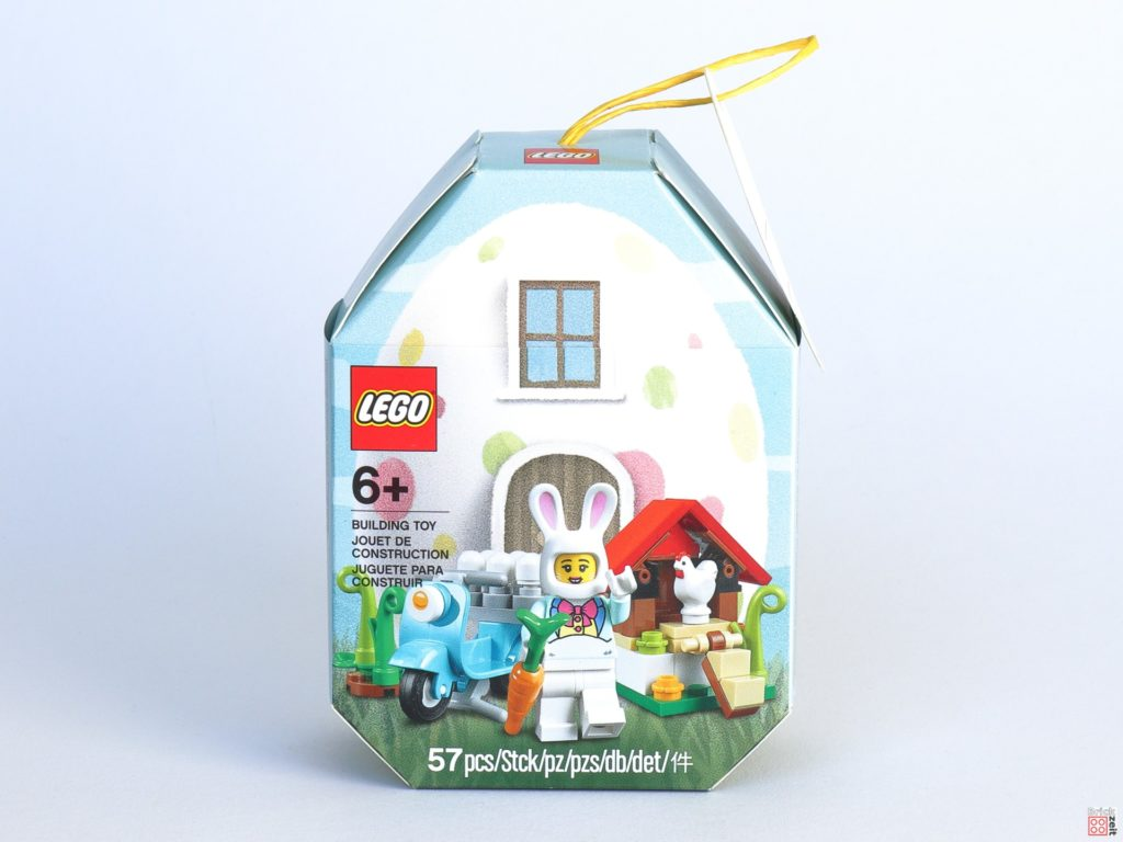 LEGO 853990 Osterhäuschen - Verpackung, Vorderseite | ©2020 Brickzeit