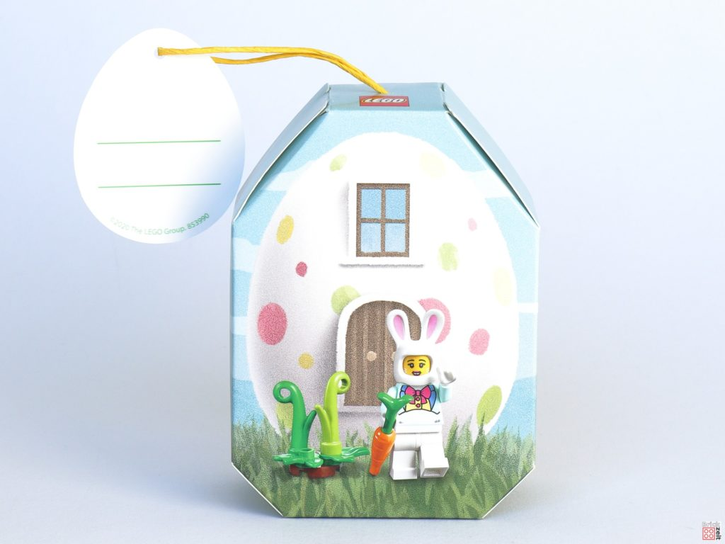 LEGO 853990 Osterhäuschen - Verpackung, Vorderseite ohne Banderole | ©2020 Brickzeit