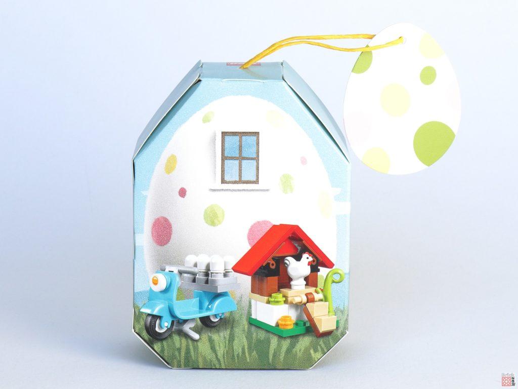 LEGO 853990 Osterhäuschen - Verpackung, Rückseite ohne Banderole | ©2020 Brickzeit