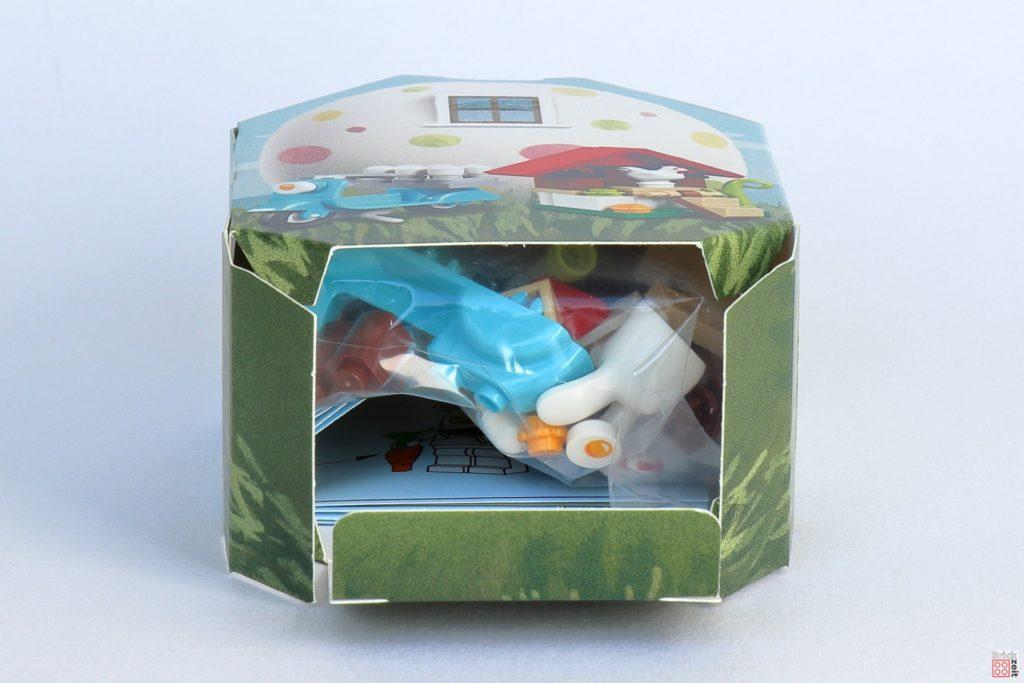 LEGO 853990 Osterhäuschen - Verpackung, offener Boden | ©2020 Brickzeit