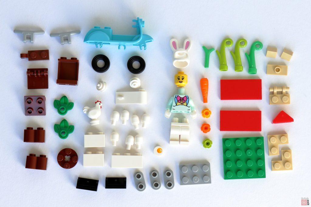 LEGO 853990 Osterhäuschen - Alle Teile | ©2020 Brickzeit